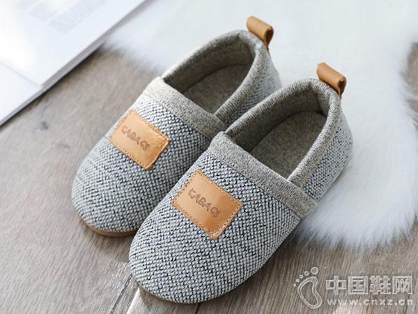 秋冬季儿童棉拖鞋卡巴奇宝宝家居鞋