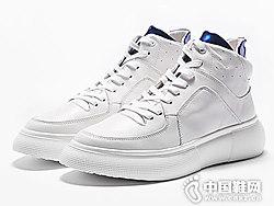 白色高帮鞋 运动休闲潮流维界新款