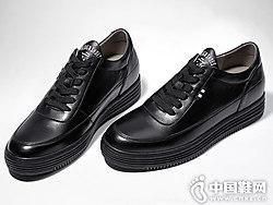保罗骑士增高鞋男6cm隐形内增高男鞋