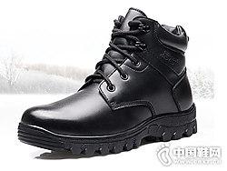 ��人3515�靴男冬季真皮保暖�R丁靴