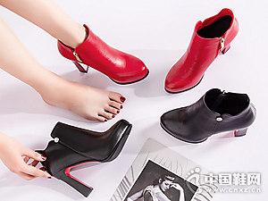 新款单靴尖头靴子巨日女靴