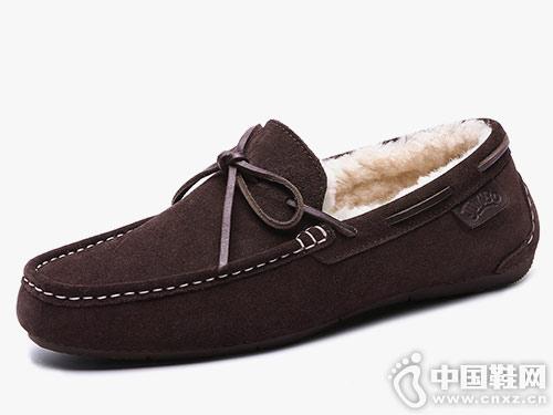 豆豆鞋男平底鞋单鞋JUMBOUGG简帛新款