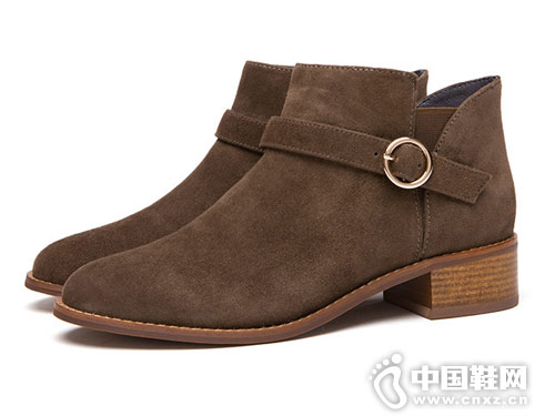 时尚短筒热风新款切尔西靴
