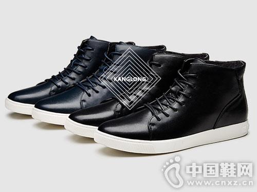 康龙韩版潮流休闲鞋流行男鞋子短靴