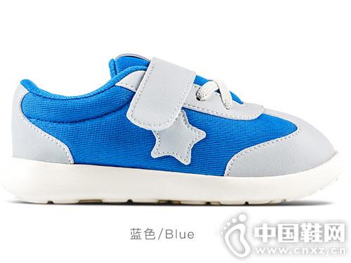 小蓝羊学步鞋2018秋季1-3-7岁儿童鞋