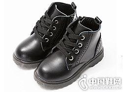 都市潮流 时尚冲孔马丁靴 米喜迪mecity童靴