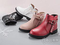 童天女童靴子2018秋冬季马丁靴