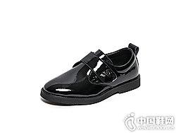 好榜样童鞋2018新款时尚英伦学院单鞋