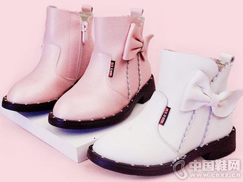 明璐童鞋2018秋季新款女童靴子