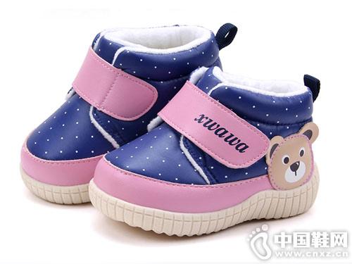 冬季学步软底加厚保暖防滑雪娃娃婴儿棉鞋