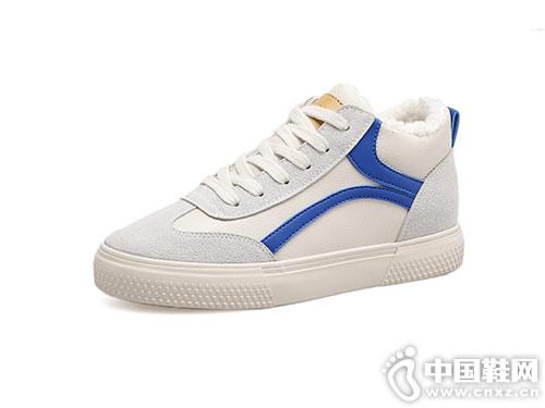 2018新款高�头�布棉靴�h球百搭小白鞋
