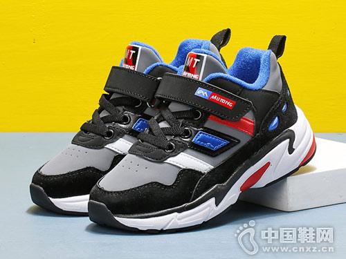 2018新款冬季男童运动鞋牧童童鞋
