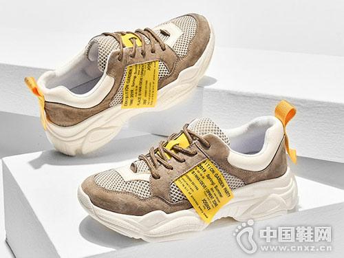 2019新款厚底休闲ins风卓诗尼老爹鞋