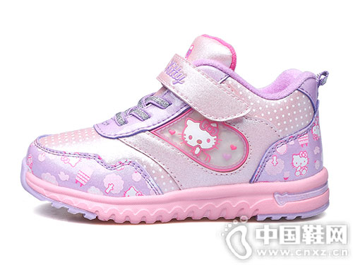 HELLO KITTY女童棉鞋冬季新款童鞋
