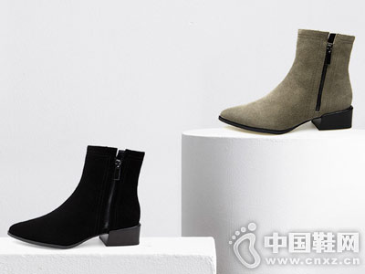 2018新款极简风经典FED短靴