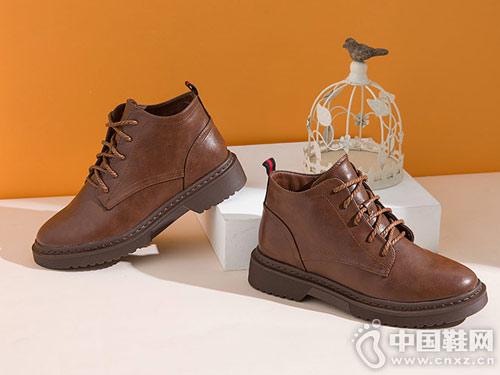 2018冬季新款欧美网红短靴大东单靴