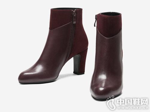 topgloria��普葛�_2018新款拼接牛皮靴子