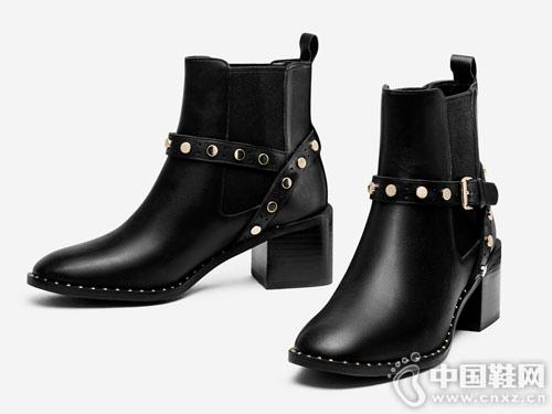 2018新款秋冬季瘦瘦靴子topgloria��普葛�_