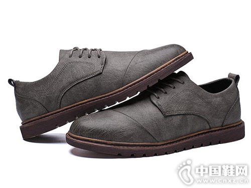 米斯特因MRING冬季新款复古百搭英伦鞋