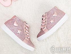 2018冬季新款板鞋靴子?#40723;四?#20799;童靴皮鞋