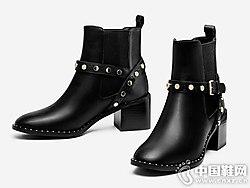2018新款秋冬季瘦瘦靴子topgloria汤普葛罗