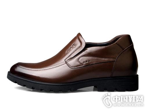 高哥增高鞋男冬季商务休闲皮鞋
