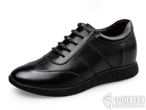 内增高男鞋6cm小白鞋男高哥新款