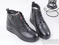 SHUANGFENG双凤2018冬季新款妈妈短靴