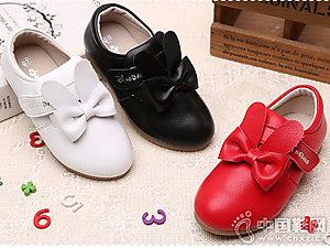 小叮当女童皮鞋2018小童韩版公主单鞋