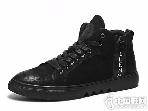 J.WON劲王冬季男鞋新款板鞋
