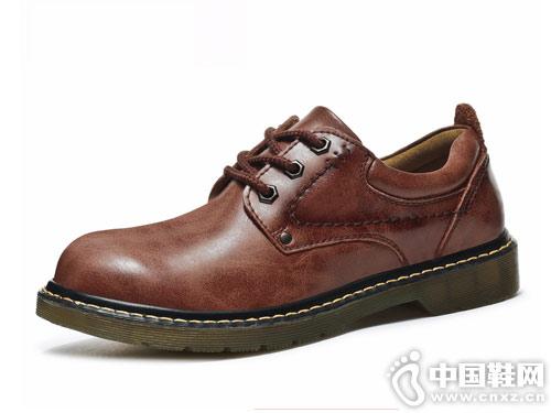 劲王J.WON冬季男鞋马丁靴短靴
