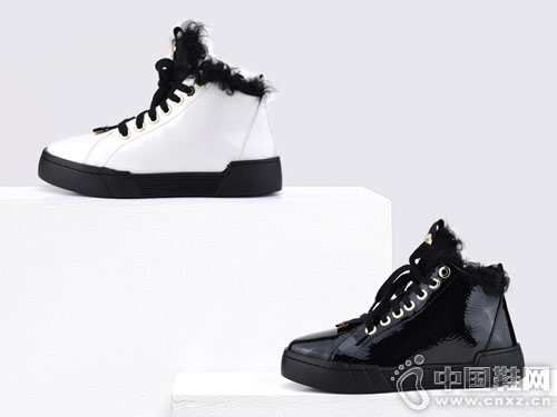Classical卡斯高2018冬季高帮女鞋