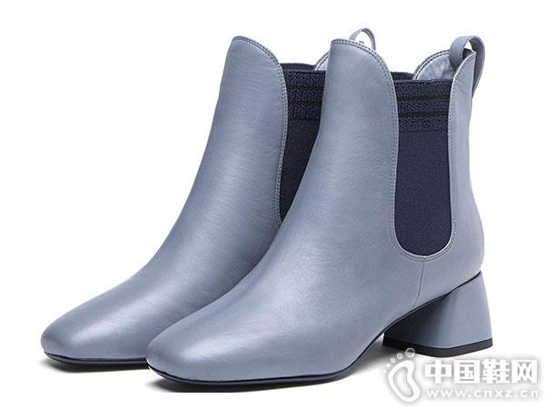 2018年秋冬新款蹀愫tigrisso切尔西短靴