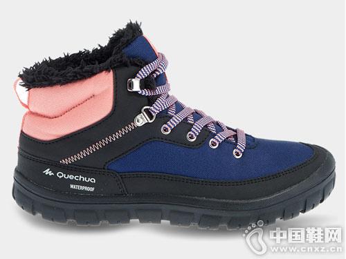 迪卡侬棉鞋加厚冬季冬鞋