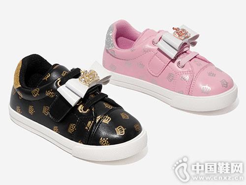 斯纳菲女童板鞋2019新款公主运动鞋