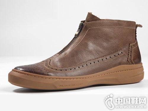 �R��杜克秋冬季新款 英���凸� 休�e潮靴