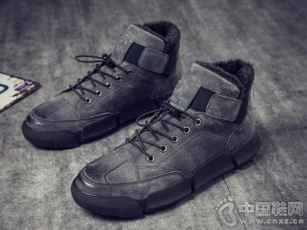 英伦男鞋休闲鞋2018木林森新款潮鞋