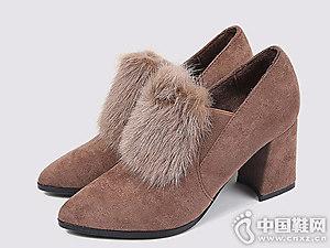 2018年冬季新款时尚百搭东帝名坊短靴