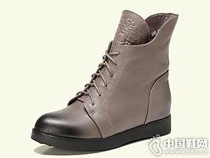 冬季欧美马丁靴安丽尼卡新款女鞋