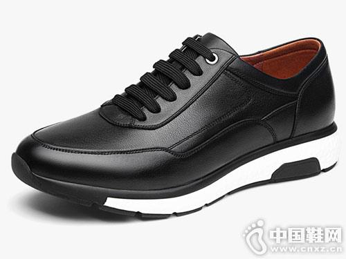 2018男鞋秋冬季英伦运动皮鞋百搭谷尔潮鞋