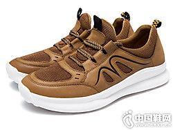 新品奥康男鞋运动休闲鞋户外舒适布鞋
