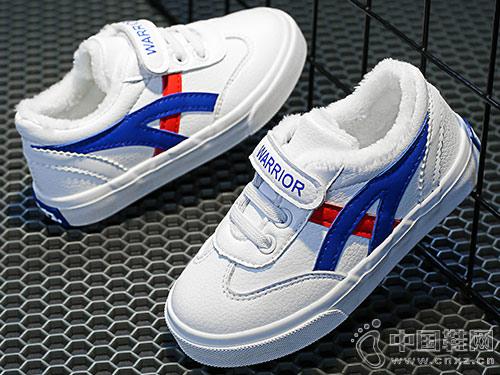 回力童鞋2018冬季新款儿童小白鞋