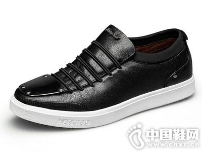 2018君步男鞋秋季潮鞋新款运动板鞋