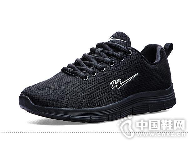 双星运动鞋男秋冬季飞织轻便加绒跑步鞋
