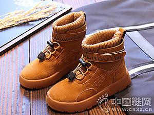 2018新款秋冬季棉鞋奔仔女童靴子