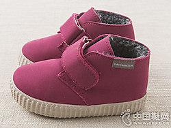 戴维贝拉davebella冬季儿童高帮板鞋