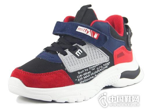 米菲童鞋运动休闲鞋2018冬季新款