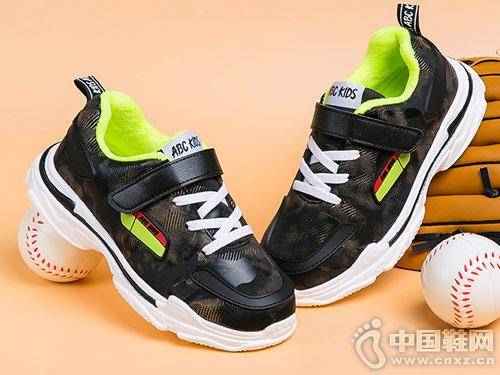 abckids童鞋2018新款?#31995;?#38795;儿童运动鞋
