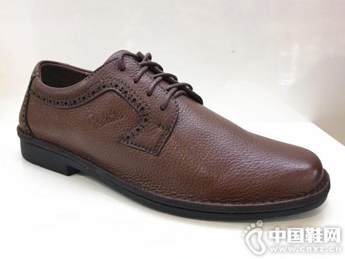 雅樂士新款休閑皮鞋系帶男鞋