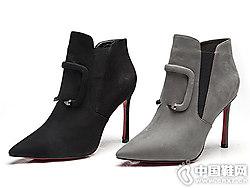时尚潮牌 万里马新款马丁靴